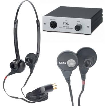 STAX SRS-005S MK 2 = Set aus In-Ear-Hörer und Treiberverstärker